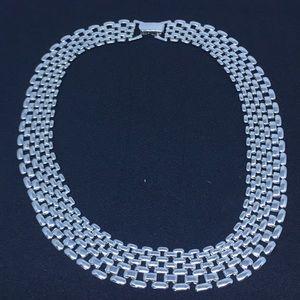Jewelry - Silvertone Choker